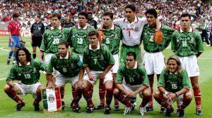 Messico 1998 Coppa del Mondo Blanco hernandez