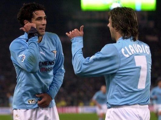 Corradi e Claudio Lopez Lazio