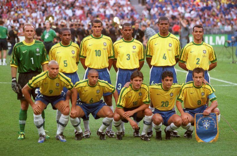 Maglia Nazionale Brasile mondiali 2002